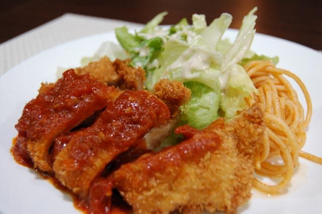 Cheese Pork Cutlet Combo Meal (2089)