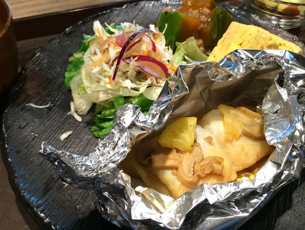 Grilled Fish in Foil (2101)