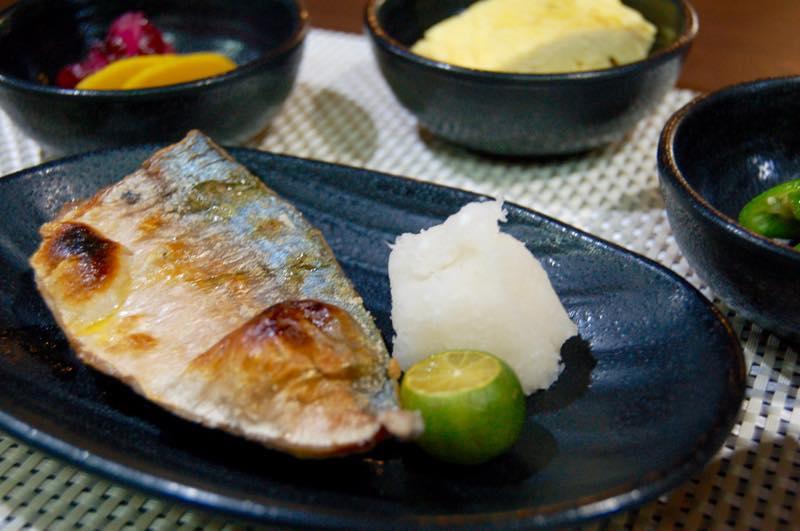 Grilled Mackerel Set (2076)