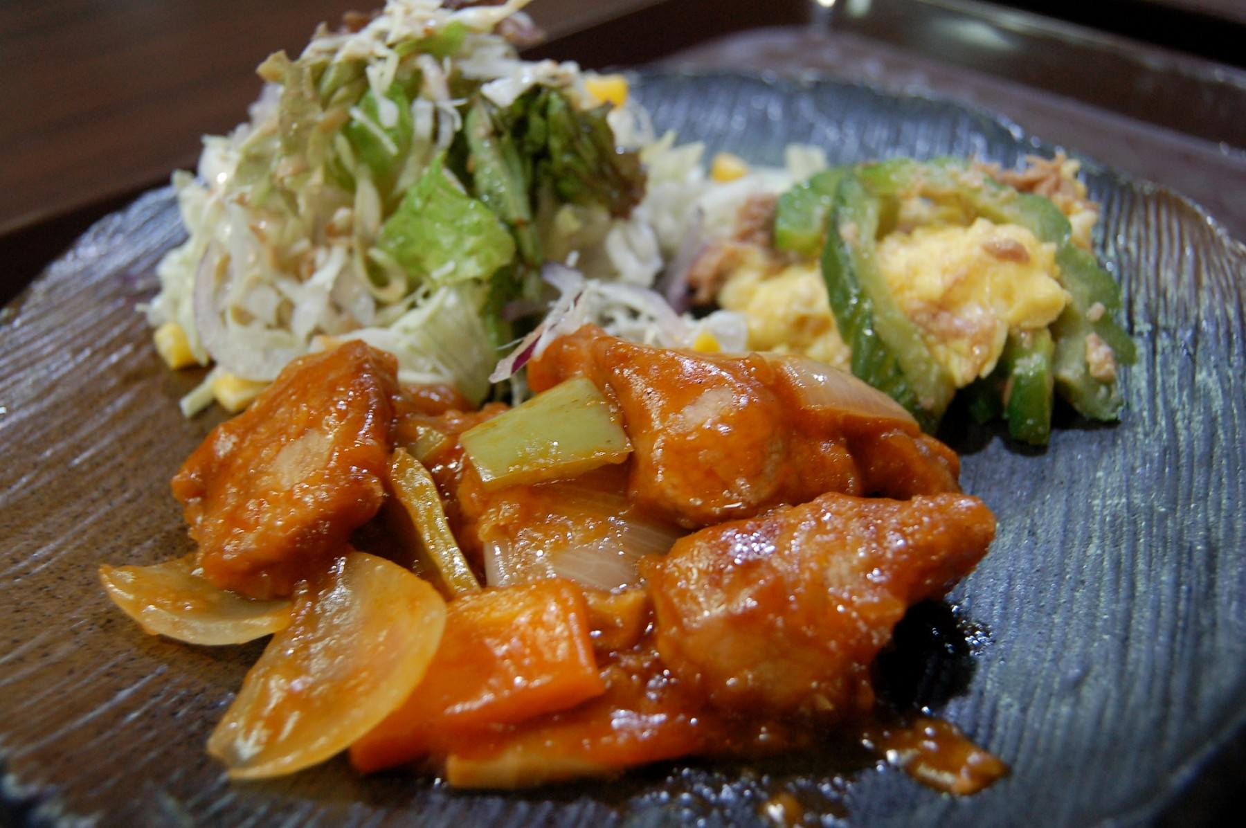 Stir Fried Pork with Sweet&Sour Sauce (2428)