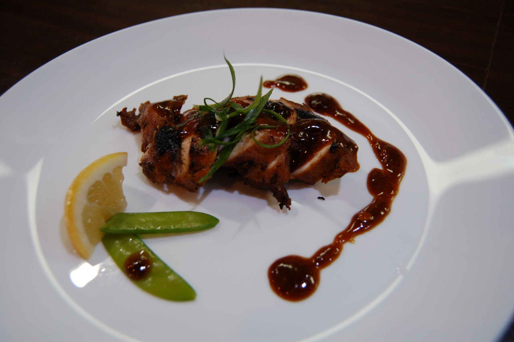 Roasted Chicken with demiglace sauce (4207)