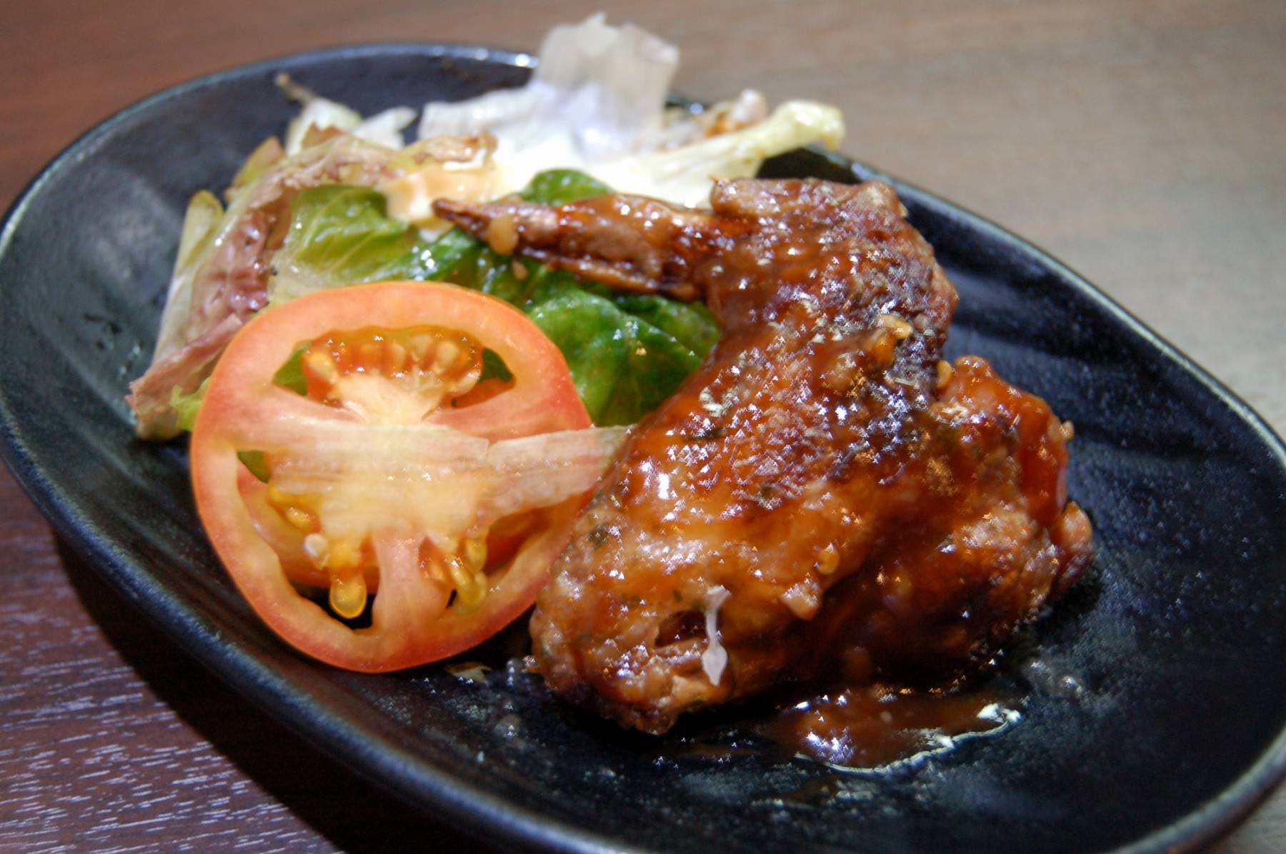 Simmered Chicken Wings with Vinegar  Soysauce (2931)