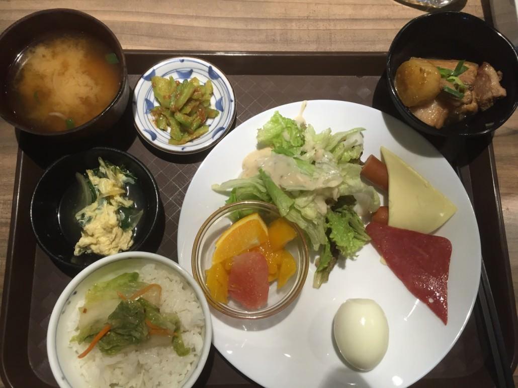 完全に日本食