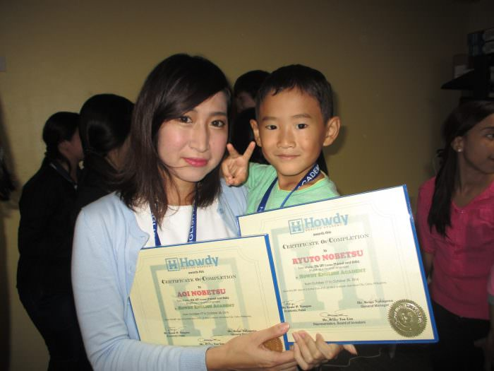 フィリピン・セブでの親子留学「丁寧なマンツーマンでまた来たいです」