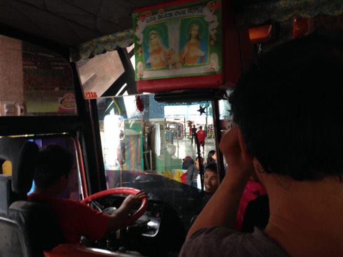 ボホール バス