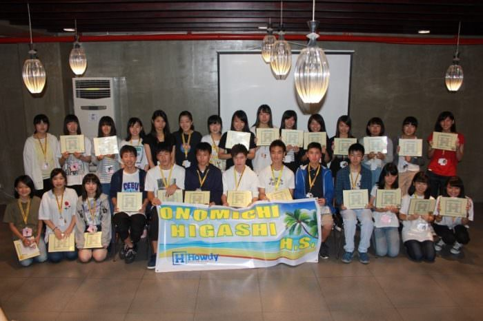 英語を学び、異文化に触れ、充実した2週間に。~尾道東高校語学研修~