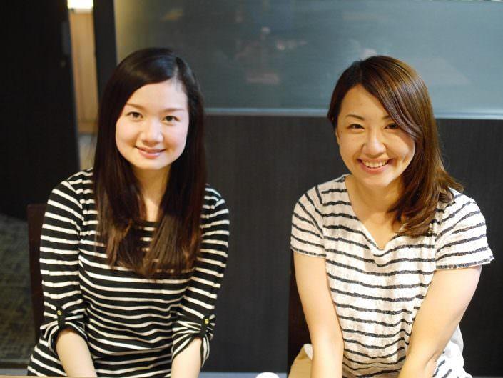 同じ会社に勤めるYukaさんとIzumiさん。