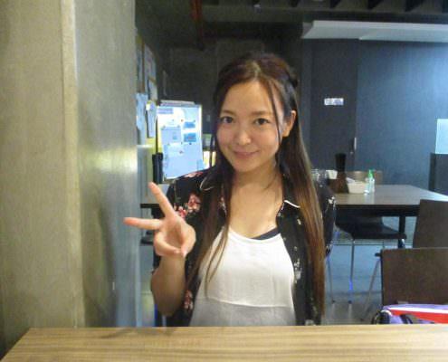 Ayako Noguchiさん/35歳/タレント留学生活に密着!