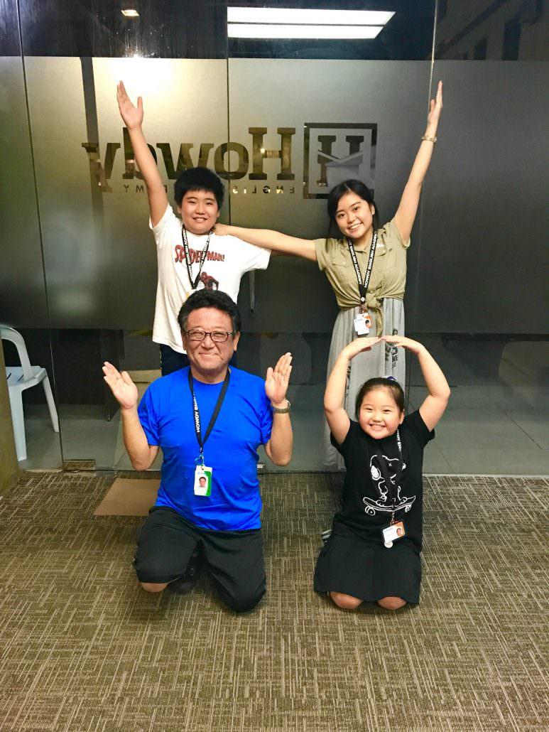 黒田親子 セブ留学インタビュー