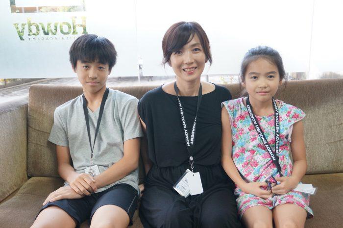シンガポールのインターナショナルスクールに通うYanagisawa 兄妹!目標は学校でバリバリ英語を使いこなすこと!